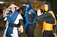 Raiden Mortal Kombat Cosplay