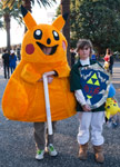 Pikachu and Link