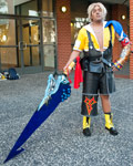 Tidus from FFX